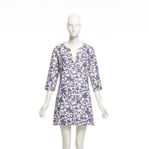 J. Crew Linen Floral Dress
